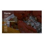 Langosta deliciosa con mantequilla exhausta, la pa plantilla de tarjeta personal