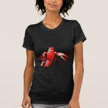 Langosta divertida de los cangrejos camiseta