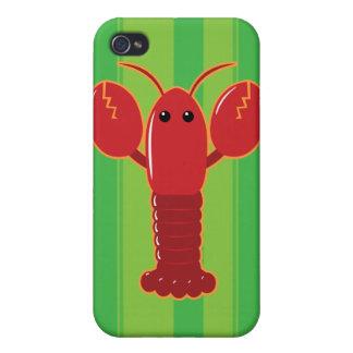 Langosta linda iPhone 4/4S carcasas