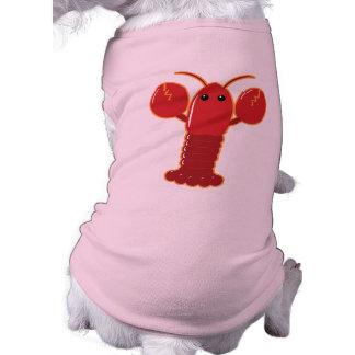 Langosta linda camisas de perritos