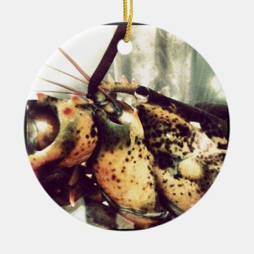 Langosta (marisco) adorno de navidad