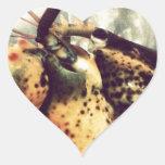 Langosta (marisco) calcomanías corazones personalizadas