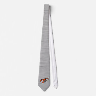 Langosta; Metal-mirada cepillada Corbatas Personalizadas