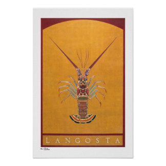 Langosta Posters, Prints and Frames