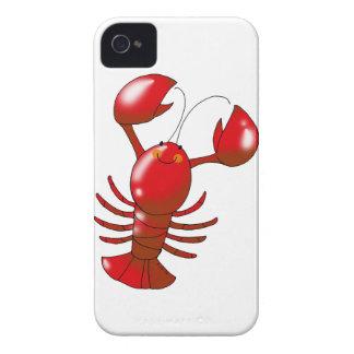 Langosta roja linda Case-Mate iPhone 4 cárcasas