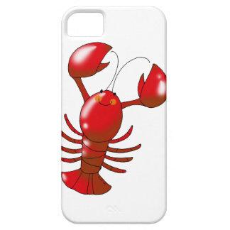 Langosta roja linda iPhone 5 carcasa