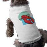 Langosta sabrosa camiseta de perro