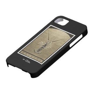 Langosta Vintage Black & White iPhone 5 Case