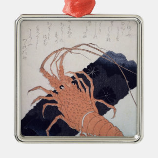 Langoustine with a Block of Charcoal, c.1830 Metal Ornament
