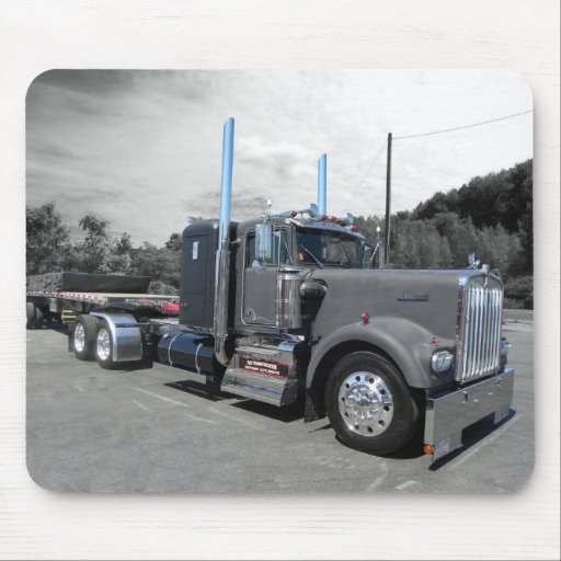 Lang's Kenworth W900A Mousepad