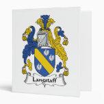 Langstaff Family Crest Binder