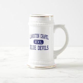Langston Chapel Blue Devils Statesboro Beer Stein