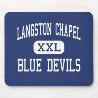 Langston Chapel Blue Devils Statesboro Mouse Pad