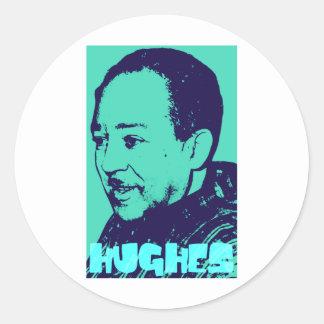Langston Hughes Classic Round Sticker