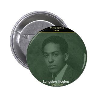 Langston Hughes Pinback Button