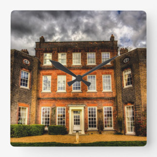 Langtons House England Square Wall Clock