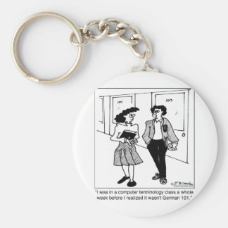 Language Cartoon 2864 Keychain