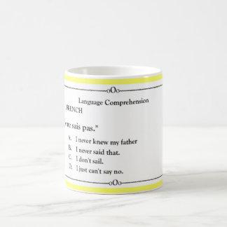 Language Collection - French 1 Coffee Mug