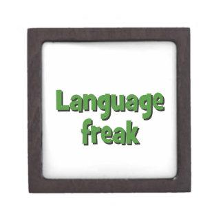 Language freak Basic green Gift Box