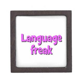 Language freak Basic purple Gift Box