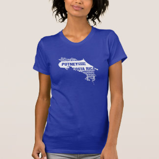 Language Learning Costa Rica in Multiple Colors T Shirt