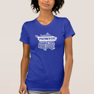 Language Learning France in Multiple Colors T-Shirt