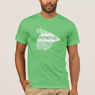 Language Learning Spain in Multiple Colors T-Shirt