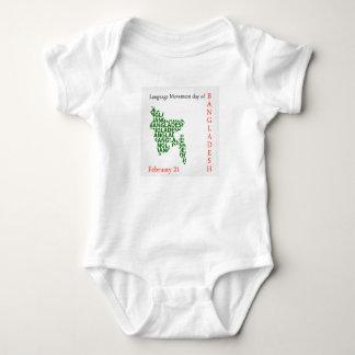 Language Movement day of Bangladesh on February 21 Baby Bodysuit