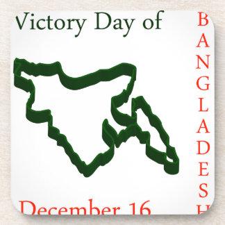 Language Movement day of Bangladesh on February 21 Beverage Coaster