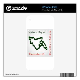 Language Movement day of Bangladesh on February 21 Skin For iPhone 4S