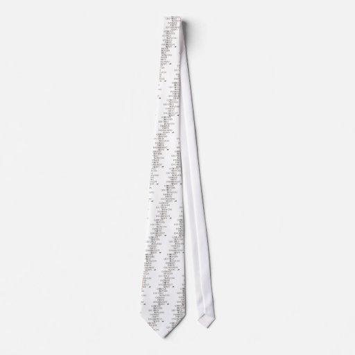 Language of Dressage Neck Tie