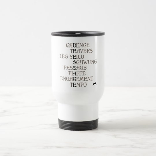 Language of Dressage Travel Mug