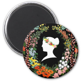 Language of Flowers 2 Inch Round Magnet