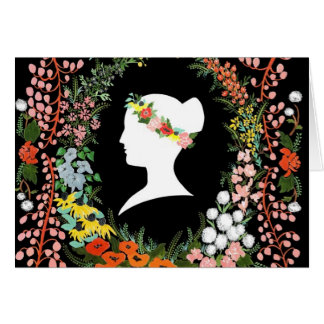 Language of Flowers Greeting Card
