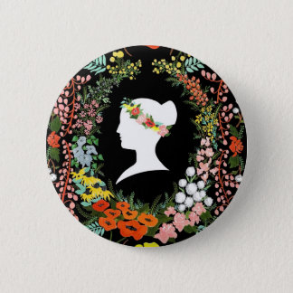 Language of Flowers Pinback Button