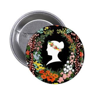 Language of Flowers Pinback Button