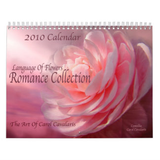 Language Of Flowers - Romance Collection Calendar