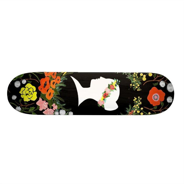 Language of Flowers skateboard