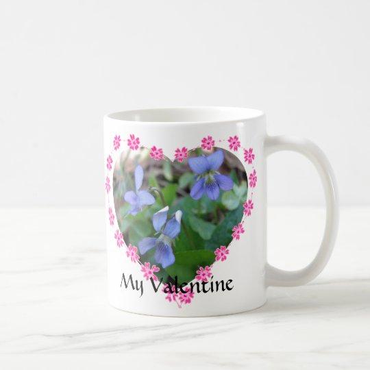Language of Flowers Valentine Mug