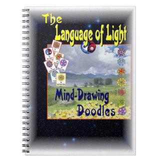 Language of Light Spiral Notebook