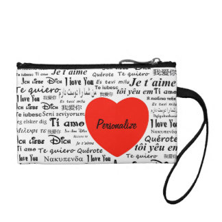 """""""Language of Love"""" Key Coin Clutch"""
