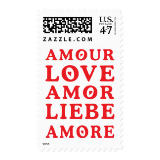 Language of Love Postage