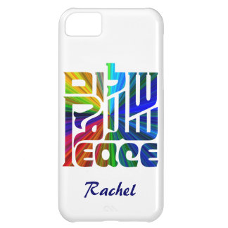 Language of Peace-Hebrew, English, Arabic Cover For iPhone 5C