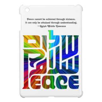 Language of Peace-Hebrew, English, Arabic Cover For The iPad Mini