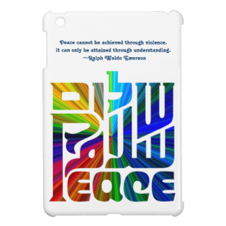 Language of Peace-Hebrew, English, Arabic iPad Mini Cases