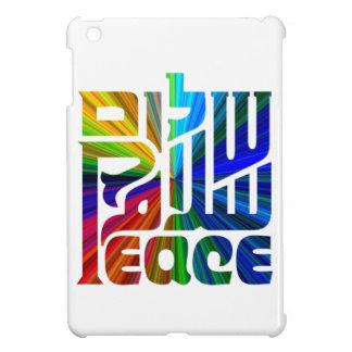 Language of Peace-Hebrew, English, Arabic iPad Mini Cover