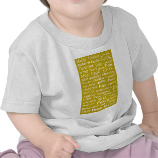 Language of Peace Tee Shirts