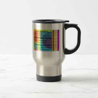 Languages Birthday Travel Mug