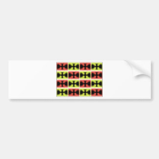Languages In Color Bumper Sticker