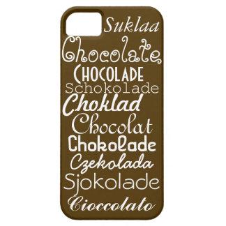 Languages of Chocolate iPhone 5/5s Case